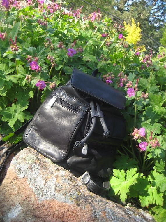 Vintage Leather  Wilsons leather Back Pack Bag Handbag Great Value Retail was 150