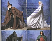 Simplicity Costume Pattern 9887 Cape Tunic Hat