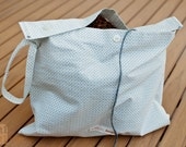 Banana Republic Shirt Upcycled Bag - 20% to Aurora Victim Relief Fund