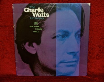 The CHARLIE WATTS ORCHESTRA - Live at Fulham Town Hall - 1986 Vintage Vinyl Record Album