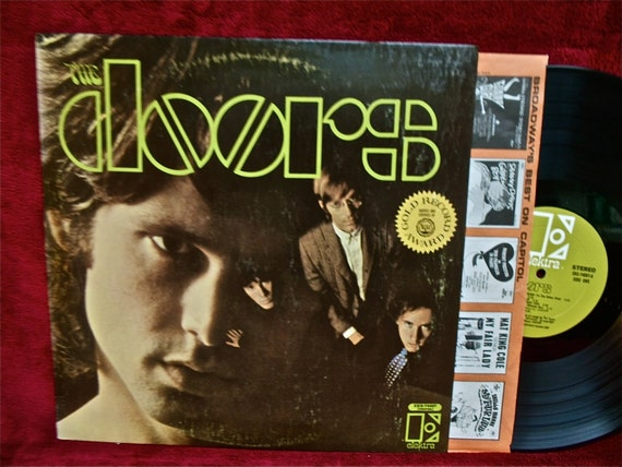 The Doors The Doors 1967 Vintage Vinyl Record Album