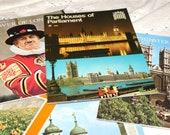 Instant Collection..Vintage Souvenir Softcover Books..England..6 Books..