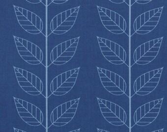 Simply Color Navy Blue Leafy Stripe 10805 - 20