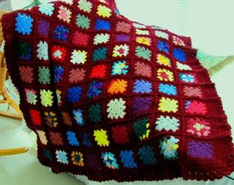 Scrapghan Crochet Afghan Pattern