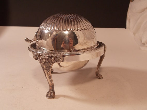 Vintage FB Rogers Silver Plated 873 Butter Bowl