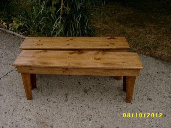 "wooden bench 2 - 46"" benchs"