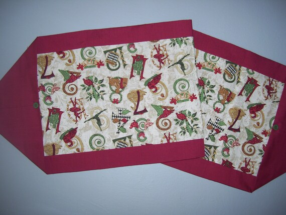 Items similar to holiday ten minute table runner on etsy for 10 min table runner