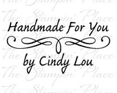 Personalized Custom Stamp - Fancy Handmade For You PS75