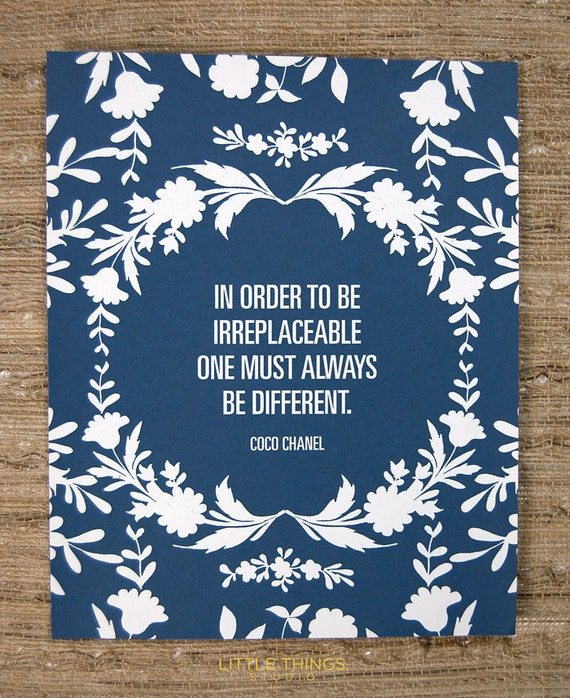 In order to be irreplaceable (Small Navy)
