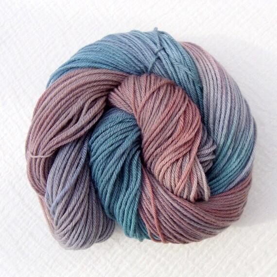 Hand Dyed Sport Yarn 100g - Superwash Merino - Shipwreck 2