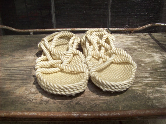 RESERVED for MYROUX Great Pair Of Gurkee's Rope Sandals Size 8 in Womens
