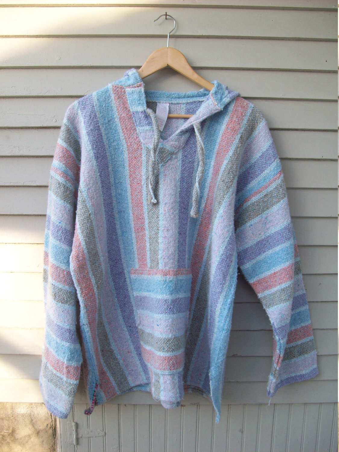 Oversized Pastel Baja Hoodie From Mexico