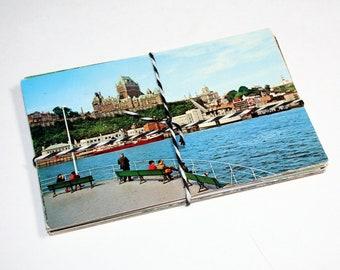 SALE 25 Vintage Used Canada Chrome Postcards