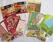 Scrapbook Kit 8 x 8 Cardmaking Paper Crafting Journaling Birthday Celebrate Kit No. 008