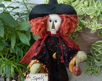 Halloween Witch Doll - Stella