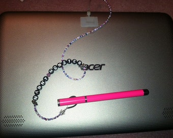 Custom Leash for your Tablet - keep your stylus from escaping
