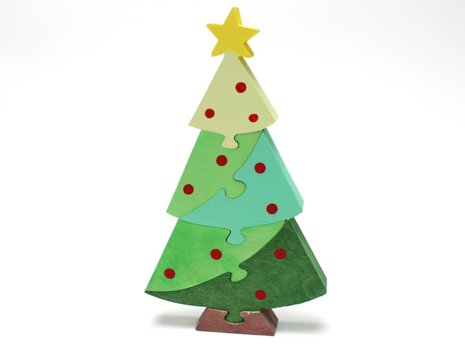 Christmas Tree Decor And Puzzle