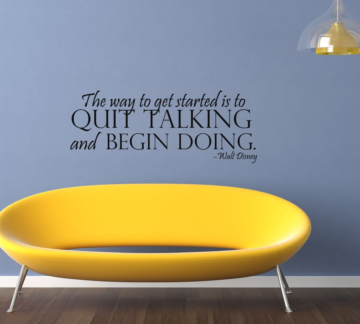 Wall Art Quotes Disney : Walt disney art wall decals stickers by villagevinepress