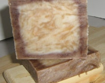 PURE SANDALWOOD Soap, 100% real Essential Oil, Gift for Him, Gift for Man, Male Friendly Gift, Mens Skincare, Groomsmen gifts