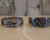 Vintage Sterling Rings / Celtic