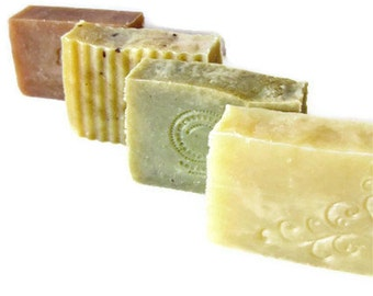 Choose 4 bars - Handmade Soap  - Natural Soap - Vegan Friendly - Delicate by Nature
