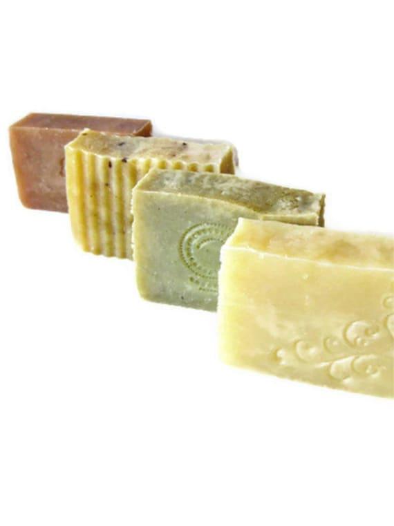 Choose 4 bars - Handmade Soap  - Natural Soap - Vegan Friendly - Delicate by Nature