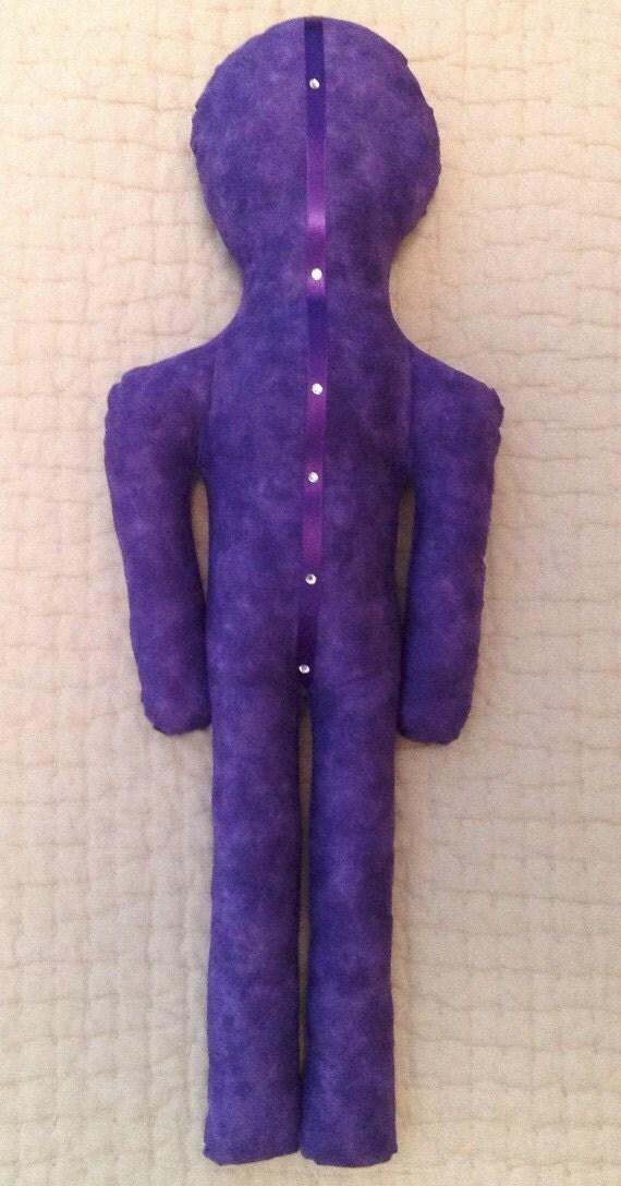 Reiki Distance Healing Doll - Violet