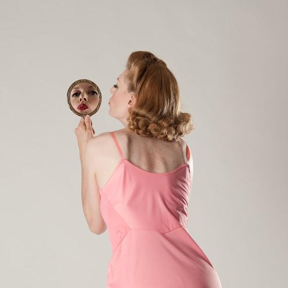 Vintage 1960s Pink Van Raalte Lingerie - Wedding Nightie - Bridal Boudoir Fashions