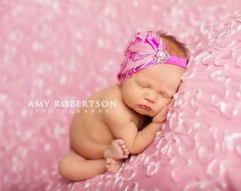 The PINKALICIOUS PRINCESS Headband - Preemie to Adult Sizes Available