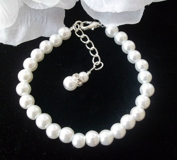 YOU CHOOSE SWAROVSKI Pearl Color,Pearl Bridal Bracelet,Bridesmaid Jewelry,Wedding Bracelet,Swarovski,Bridal Jewelry,Mother of the Bride