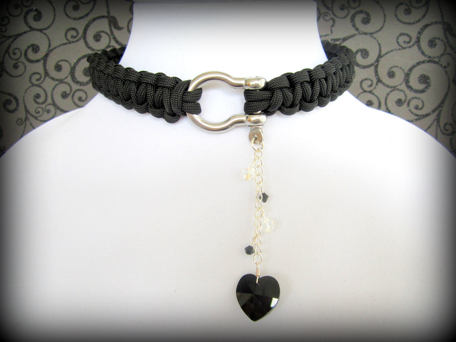Necklace collar for bdsm