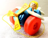 Fisher Price Pull Along Aeroplane Toy - Fisher Price Airplane Toy