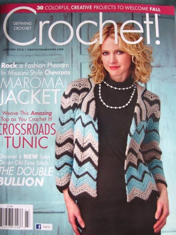 Destash brand new Crochet Magazine Fall 2012 issue women's fashion patterns, home decor, jewelry