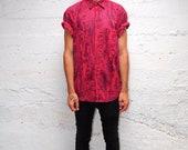 Red Lava...  Vintage Shirt