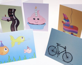 Mix and Match Greeting Cards (5 pack)