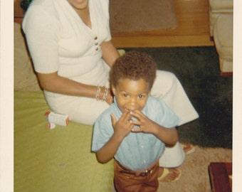 VTG Photo of Bashful Young Lad