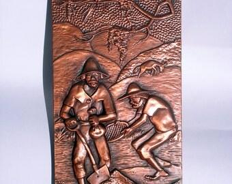 Brazilian Copper Relief -Ludavico