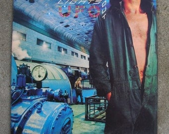 UFO (band) - Lights Out L.P. Record/ Vinyl - Michael Schenker and Co. - Hard Rock/ Heavy Metal - 1977 Album Release