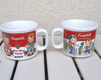 CAMPBELLS Collectible Soup Cups.
