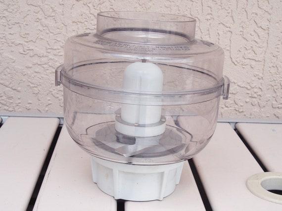 Oster Kitchen Center Food Processor White Chopper Attachment