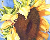 "Notecard ""Sunflower"" by Sandi McGuire"
