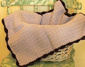 Crocheted Cat or Dog Pastel  Blanket