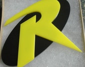 Robin Logo Inspired Dual color Necklace