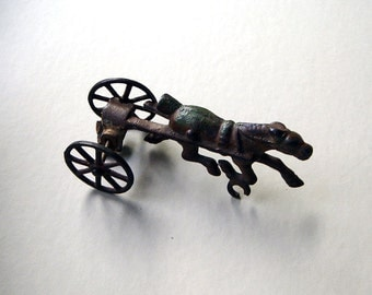 Vintage Cast Iron Cart Horse