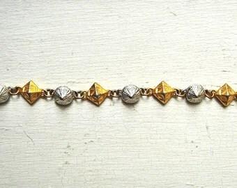 Vintage Pyramid Bracelet