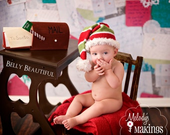 Elf Hat Knitting Pattern - All Sizes Newborn through Adult Male Included  - PDF Sale - Instant Digital Download