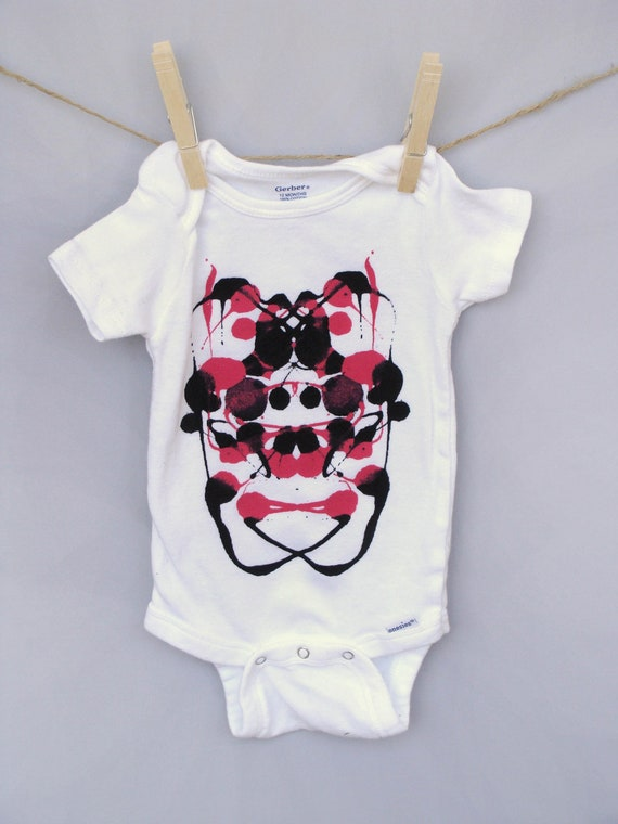 unique gift for new mom baby shower gift hip baby onesie w ink
