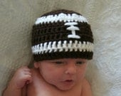Football Hat for baby- cute photo prop