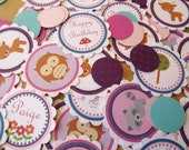 Jeweled Forest Friends Collection: Confetti