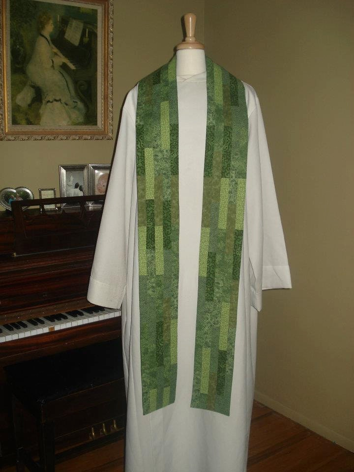 Vertical Stripes Clergy Stole